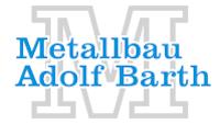 Metallbau Adolf Barth e. K.